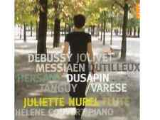 CD TOUT NEUF brand new & sealed J Hurel & H Couvert Flûte Piano Debussy Messiaen