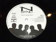 "N SYNC - Tearin' Up My Heart - 1987 UK promo 3-track 12"" Vinyl Single"