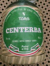 AMARO CENTERBA CENTERBE  TORO DIGESTIVO RICETTA ANTICA IDEA REGALO TIPICO ITALIA