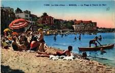 CPA La Cote d'Azur Bandol La Plage a l'heure du Bain (613756)