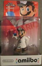 Nintendo Smash Bros. Dr. Mario Amiibo (North American Packaging) used for Wii U