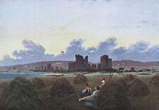 Caspar David Friedrich RAST BE DER HEUERNTE Reproduktion print deutscher Maler