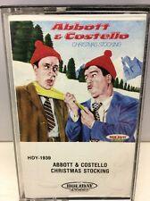 Abbott & Costello Christmas Stockings Cassette Tape HDY-1939