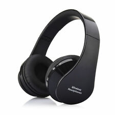 Black Stereo Bluetooth Wireless Headset Headphone Microphone/mic Earphone PHONES