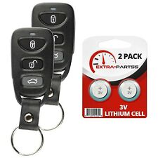 2 For 2011 2012 2013 2014 Hyundai Elantra Keyless Remote Car Key Fob OSLOKA-360T