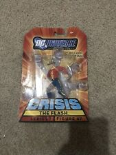 New 2008 DC Universe Infinite Heroes Crisis JAY GARRICK FLASH Series 1 Figure 47