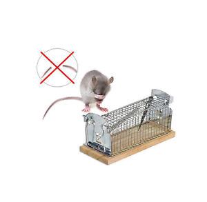 Mausefalle Lebend Falle + Schwanzschutz Rattenfalle Mäusefalle Drahtkastenfalle