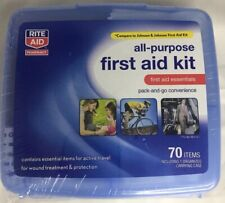 All-Purpose Portable Compact Emergency First Aid Kit  70 Items Gift