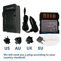 Battery+charger for JVC GR-D290US, BN-VF714U, BN-VF714US, GZ-D270, GZ-MG40AC NEW