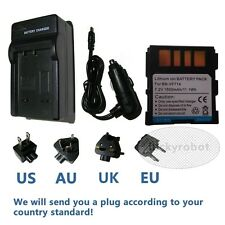 Battery +Charger FOR JVC BN-VF714 VF714U VF714UE US GR-D320 D340 D350 D360 DF550