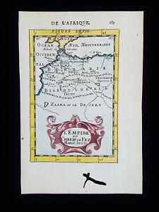 1683 A.M. MALLET: WEST AFRICA, MAROCCO, ALGERIA, CASABLANCA, ATLANTIC OCEAN