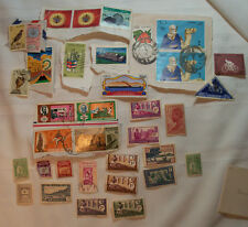 Vintage postage stamp lot from Africa (equatorial and middle east)