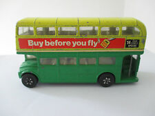 CORGI 469 ROUTEMASTER DOUBLE DECKER BUS 'DUTY FREE BUY BEFORE YOU FLY' No 14