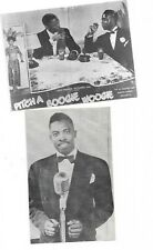 Two postcards from the 1940s all-black cast film Pitch a Boogie Woogie. Rare!