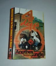4 Deep – Another Day In The Jungle. Cassette artwork only SUPER RARE!
