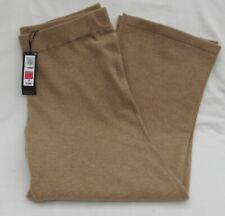 Ladies Marks and Spencer Autograph Camel Pure Cashmere Long Pants Size L