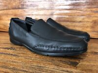 """Men's Mephisto """"Edlef"""" Casual Walking Loafers Shoes Black Leather Size 11"""
