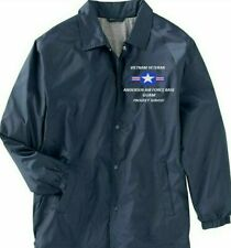 VIETNAM* ANDERSEN AIR FORCE BASE GUAM COACHES EMBROIDERED LIGHTWEIGHT JACKET