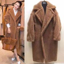 Faux Fur Outer Shell Casual Trench Coats Coats, Jackets & Waistcoats for Women