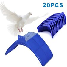 More details for 20x perches v pigeon bird dove pet rest stand roost frame dwelling kit uk blue