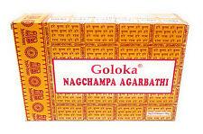 12 x 16 g Goloka -Nag-Champa Räucherstäbchen incense sticks - Indien