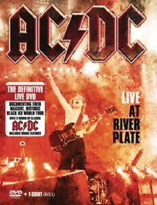 ACDC Live at River Plate (DVD plus large size Tee Shirt) BRAND NEW.