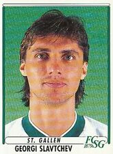 186 GEORGI SLAVCHEV # BULGARIA FC.ST.GALLEN STICKER PANINI FOOTBALL 99