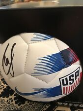BORUSSIA DORTMUND CHRISTIAN PULISIC signed USA SOCCER BALL JSA