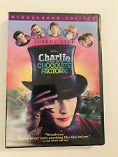 Charlie and the Chocolate Factory Dvd Widescreen (Johnny Depp) Brand New+Sealed