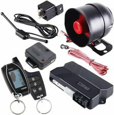 Ds18 2 Way Keyless Entry Lcd Remote Start Car Alarm Security System 1000 Meters