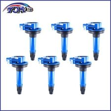 BRAND NEW SET OF 6 IGNITION COILS FOR FORD F-150 EXPLORER 3.5L UF-646 BLUE