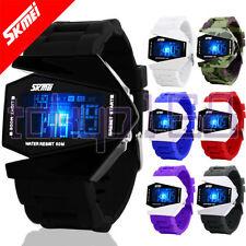 Stainless Steel Case Digital SKMEI Wristwatches