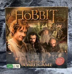 Pressman The Hobbit: An Unexpected Journey Adventure Board Game Brand NEW Sealed