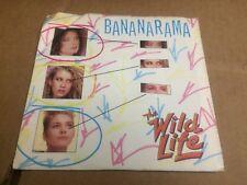 BANANARAMA THE WILD LIFE PIC SLEEVE  45 RPM VINYL  7 R