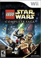 LEGO Star Wars: The Complete Saga [Nintendo Wii, LucasArts Action Adventure] NEW