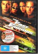 The Fast And The Furious (DVD, 2005) #fb1 q