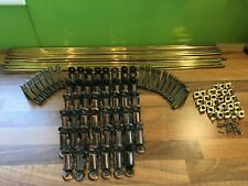 Collection of Brass Stair Rods and Fittings approx 16.5-17kg