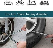 2 Pcs Motorcycle Bike Tire Iron Lever Spoon Stick Rim Iron Changing Repair Tools
