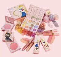 100% AUTHENTIC Sailor Moon x ColourPop Full Set Collection New LUNA BLUSH Anime