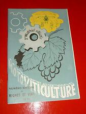 1958 motoviticulture 2° materiel viticole tracteur vigneron