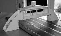 1:32 Scale 4-Lane Tyre Bridge for Scalextric/Other Static Layouts