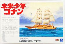 Aoshima 09468 Future Boy Conan Barracuda 1/200 scale kit