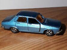voiture miniature norev mini jet car renault 12 bleu gordini diecast vintage car