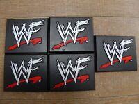 WWE WWF Wrestling Jakks Job Lot 5 Display Stands Accessories for Toy Figures