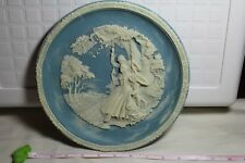 """SHAKESPEARE LOVE SONNETS COLLECTOR CAMEO PLATE """"SINCE FIRST I SAW YOU"""" 4TH PLATE"""