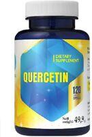 Quercetin 316 mg 120 Capsules 4 Month Supply, High Bioavailability Immune Health