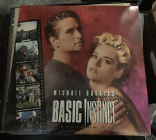 Basic Instinct Laserdisc LD Pioneer Special Edition Unrated Director's Cut