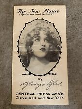Vintage 1920s New Figure Gladys Glad Ziegfeld Follies Exercise Diet Booklet