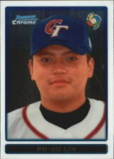 2009 Bowman Chrome WBC Prospects #BCW32 Po Yu Lin