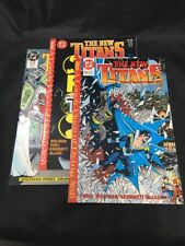 The New Titans # 59 60 61  DC Comics 1989 VF Rightwing Starfire Cyborg Batman